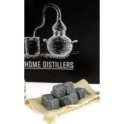 Pierres à Whisky en Granit Bleu de Bretagne | HOME DISTILLERS